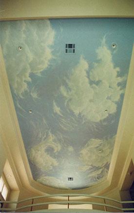 Cloud ceiling for Cloud ceiling mural